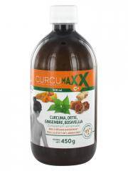 CurcumaxxC+ Curcuma, Ortie, Gingembre, Boswellia 500 ml - Bouteille 500 ml