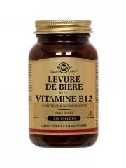 Solgar Levure de Bière avec Vitamine B12 250 Comprimés - Flacon 250 comprimés