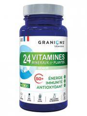 Granions 24 Vitamines Minéraux et Plantes Sénior 90 Comprimés - Pot 90 comprimés