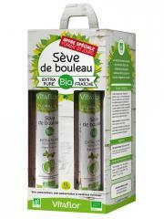 Vitaflor Sève de Bouleau Bio 4 x 250 ml Offre Spéciale - Coffret 4 bouteilles de 250 ml