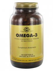 Solgar Omega-3 120 Gélules - Flacon 120 gélules