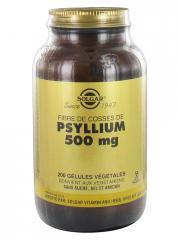 Solgar Fibre de Cosses de Psyllium 500 mg 200 Gélules Végétales - Flacon 200 gélules végétales