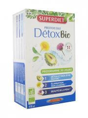Super Diet Protocole Détox Bio 30 Ampoules - Boîte 30 ampoules de 15 ml