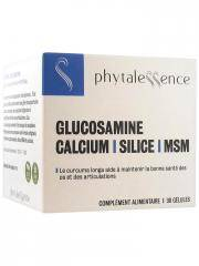 Phytalessence Glucosamine Calcium Silice MSM 30 Gélules - Pot 30 gélules