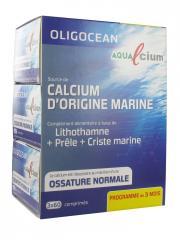 Oligocean Aqualcium Lot de 3 x 60 Comprimés - Lot 3 x 60 Comprimés
