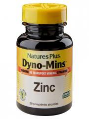Natures Plus Dyno-Mins Zinc 30 Comprimés sécables - Flacon 30 Comprimés