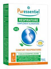 Puressentiel Respiratoire Complément Alimentaire Bio 30 Capsules - Boîte 30 capsules