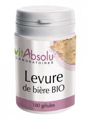 VitAbsolu Levure de Bière Bio 180 Gélules - Pot 180 gélules