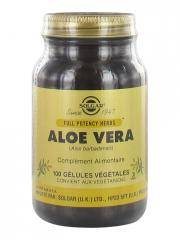 Solgar Aloe Vera 100 Gélules Végétales - Flacon 100 gélules végétales