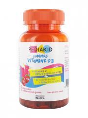 Pediakid Gommes Vitamine D3 60 Gommes - Boîte 60 gommes