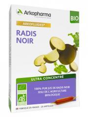 Arkopharma Arkofluides Radis Noir Bio 20 Ampoules - Boîte 20 ampoules de 10 ml