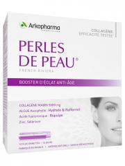 Arkopharma Perles de Peau Booster d'Éclat Anti-Âge 10 Flaconnettes - Boîte 10 flaconnettes de 25 ml