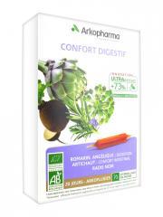 Arkopharma Arkofluides Confort Digestif Bio 20 Ampoules - Boîte 20 ampoules de 10 ml