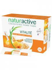 Naturactive Vitalité 20 Sticks Fluides - Boîte 20 Sticks x 10 ml