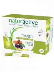 Naturactive Transit 20 Sticks Fluides - Boîte 20 Sticks x 12 ml