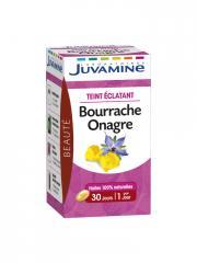 Juvamine Bourrache Onagre 30 Capsules - Pot 30 capsules