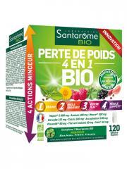 Santarome Bio Perte de Poids 4en1 Bio 120 Gélules - Boîte 120 gélules