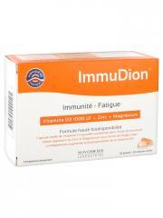 Laboratoire Novomedis Immunité-Fatigue Vitamine D3 1000 UI + Zinc + Magnésium 30 Gélules + 30 Capsules Molles - Boîte 30 gélules + 30 capsules molles