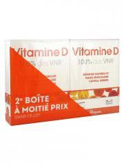 Nutrisanté Vitamine D Lot de 2 x 90 Comprimés - Lot 2 x 90 comprimés