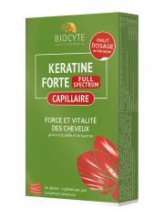Biocyte Keratine Forte Full Spectrum 40 Gélules - Boîte 40 Gélules