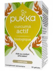 Pukka Curcuma Actif 30 Gélules - Pot 30 gélules