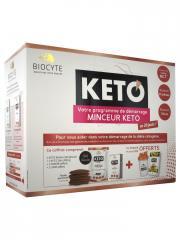 Biocyte Keto Programme de Démarrage Minceur 20 Jours - Kit 2 produits + 1 shaker + 1 livre