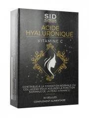 S.I.D Nutrition Acide Hyaluronique Vitamine C 30 Gélules - Boîte 30 gélules
