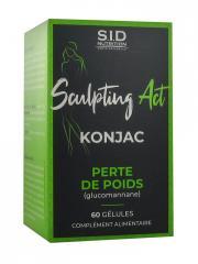 S.I.D Nutrition Sculpting Act Konjac Perte de Poids 60 Gélules - Pot 60 gélules