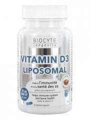 Biocyte Longevity Vitamin D3 Liposomal 30 Gélules - Pot 30 gélules