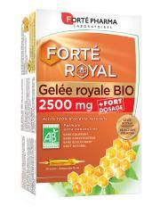 Forté Pharma Gelée Royale 2500 mg Bio 20 Ampoules - Boîte 20 ampoules de 15 ml