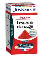 Juvamine Levure de Riz Rouge Coenzyme Q10 30 Comprimés - Pot 30 comprimés