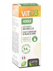 Santé Verte Vitamine D3 400UI 15 ml - Flacon 15 ml