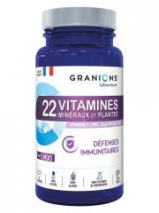 Granions 22 Vitamines Minéraux et Plantes 90 Comprimés - Pot 90 comprimés