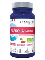 Granions Acérola 1200 Bio 30 Comprimés - Pot 30 comprimés