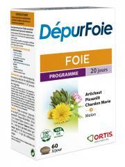 Ortis Foie DépurFoie 60 Comprimés - Boîte 60 comprimés