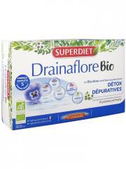 Super Diet Drainaflore Bio 20 Ampoules - Boîte 20 ampoules de 15 ml