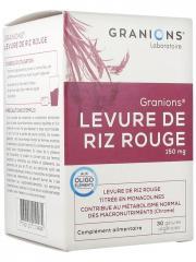 Granions Levure de Riz Rouge 150 mg 30 Gélules Végétales - Boîte 30 gélules