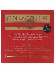 Collagen Lift Red Carpet 28 Ampoules x 10 ml - Boîte 28 ampoules de 10 ml