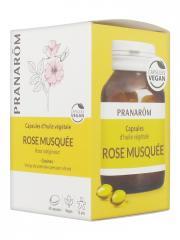 Pranarôm Capsules d'Huile Végétale Rose Musquée 60 Capsules - Boîte 60 capsules