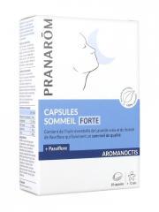 Pranarôm Aromanoctis Capsules Sommeil Forte 30 Capsules - Boîte 30 capsules