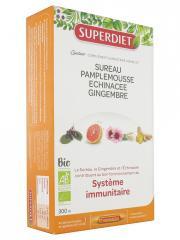 Super Diet Quatuor Système Immunitaire Bio 20 Ampoules - Boîte 20 ampoules de 15 ml