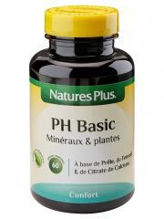 Natures Plus PH Basic Minéraux & Plantes 60 Gélules Végétales - Flacon 60 Gélules