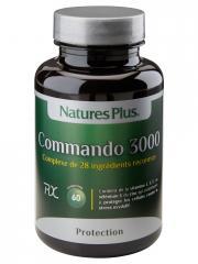 Natures Plus Commando 3000 60 Comprimés - Flacon 60 comprimés