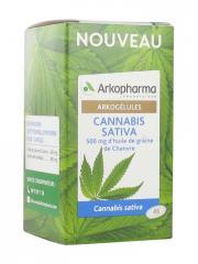 Arkopharma Arkogélules Cannabis Sativa 45 Capsules - Pot 45 capsules