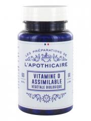 Les Préparations de l'Apothicaire Vitamine D Assimilable Bio 60 Gélules - Pot 60 gélules