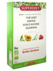 Super Diet Quatuor Guarana Brûle-Graisse Bio 20 Ampoules - Boîte 20 ampoules de 15 ml