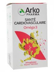 Arkopharma Arkogélules Oméga 3 180 Capsules - Boîte 180 capsules