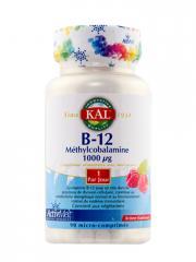 Kal Vitamine B12 Méthylcobalamine 90 Micro-Comprimés - Boîte 90 comprimés