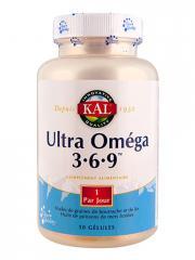 Kal Ultra Oméga 3 6 9 50 Gélules - Boîte 50 gélules