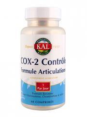 Kal COX-2 Contrôle 60 Comprimés - Boîte 60 comprimés